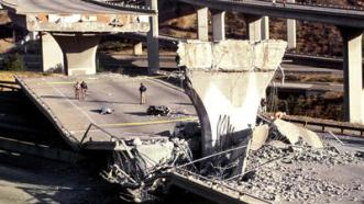 Freeway Collapse Northridge Earthquake 1994