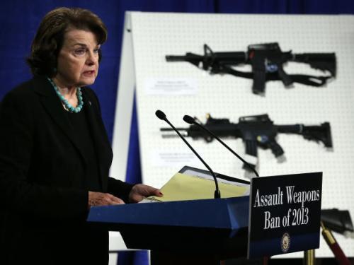 Dianne Feinstein & assault weapons