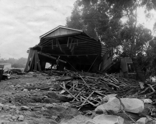 1934 flooding before the LA River was controlled