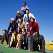 Pyramid of People