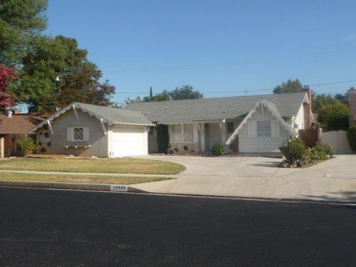 San Fernando Valley - Typical Middle Class Home
