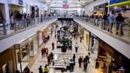 Black Friday at the mall