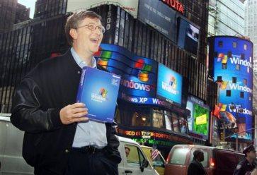 Bill Gates Introduces Windows XP Oct 25, 2001