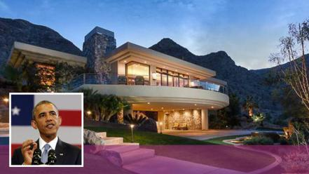 Barack Obama's Rancho Mirage Home