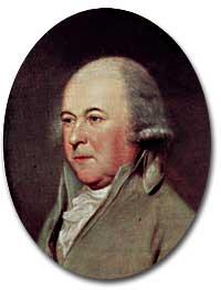 John Adams painting by Charles Wilson Peale