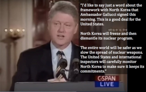 Bill Clinton on North Korea