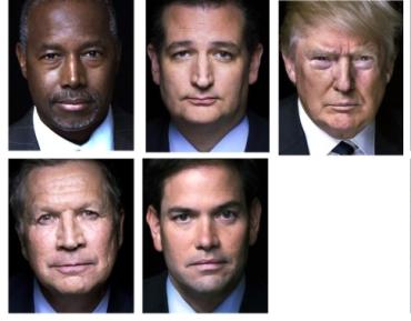 GOP Candidates 2-21-16