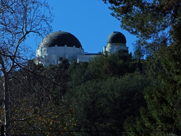 Observatory from park entrance