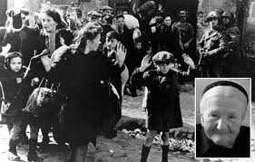 Irena Sendler 1942 and at age 98