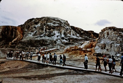 1960 Summer in Yellowstone Park - Mammoth Hot Springs #11_edited-2