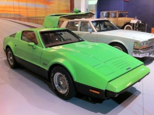 1974 Bricklin green right