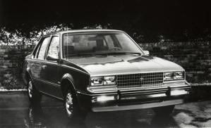 1982 Cadillac Cimmarron