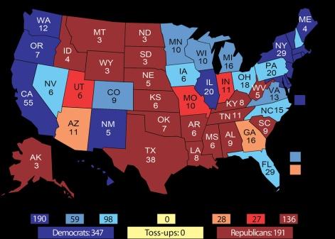 Univ of VA Electoral Map 8-4-2016