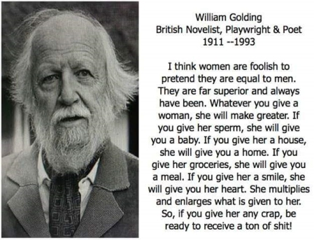 William Golding, British Novelist, Playwrite, and Poet