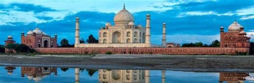 The Taj Mahal,